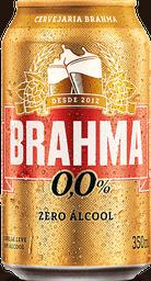 Cerveja Brahma Zero Sem Álcool 350mL