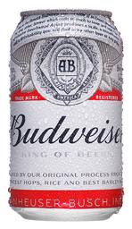 Cerveja Budweiser Lata 350 mL