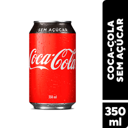 Coca-Cola Sem Açucar 350mL