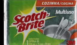 Esponja Dupla Face Scotch Brite 1 Unidade
