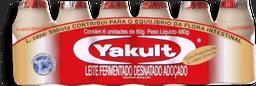 Leite Fermentado Yakult Com 6 U De 480 g - Cód.11066