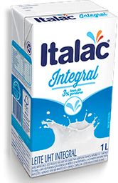 Leite Italac UHT Integral 1 L