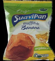 Muffin SuaviPan Orgânico de Banana 40g