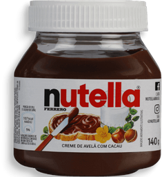 Nutella Creme de Avela 140g