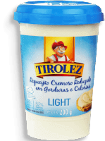 Requeijão Tirolez Cremoso Light 200g