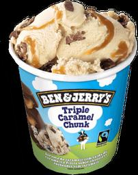 Sorvete Ben & Jerry's Triple Caramel Chunk 458 mL
