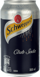 Schweppes Club Soda - 350ml