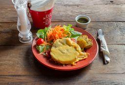 Veggie Burger Plate