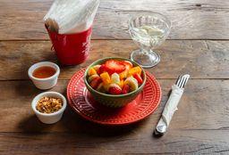 Salada de frutas com Yogurte