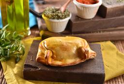 Empanada Milho Verde com Molho Branco