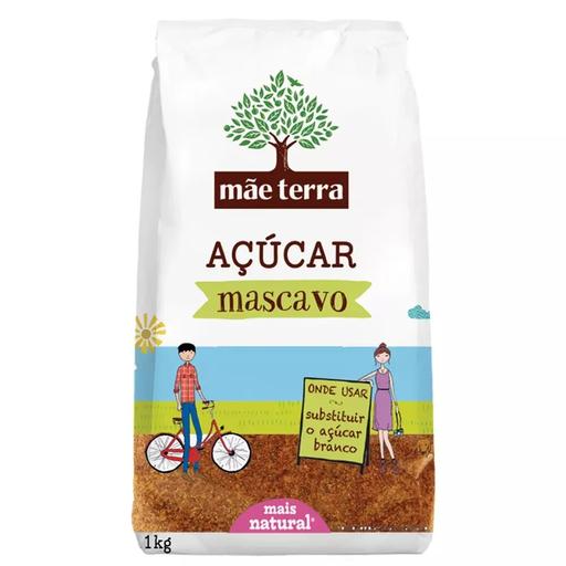 Orgânico Açúcar Mascavo Mãe Terra Pacote 1K