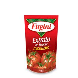 8% em 6 Unid Fugini Extrato De Tomate Tradicional Sache
