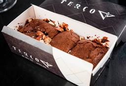 Brownie de chocolate belga com amêndoas - Sem glúten