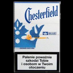 Cigarro Chesterfield Box Blue