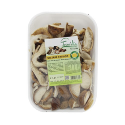 Cogumelos Terra Vita Shitake Fatiado Bandeja