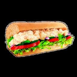 Sanduíche Frango Defumado com Cream Cheese - 30cm