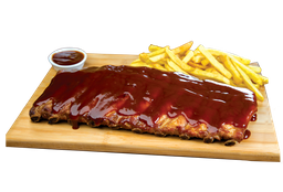 De 99,00 por 79,90 - Rocket Ribs Full + Budwiser