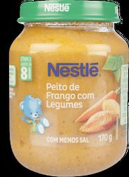Papinha Infantil Galinha Com Legumes Nestle 170g