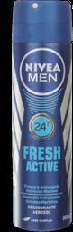 Desodorante Aero For Men Fresh Active Nivea 150g Ml