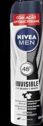 Desodorante Aero Men Inv Bl Wh Power Nivea 150g Ml