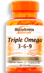 Capsula Triple Omega 3 6 9 Sundown C/60