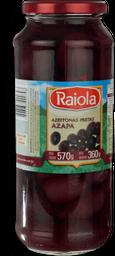 Azeitona Preta Chilena Raiola 360g