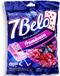 Bala Framboesa 7 Belo 150G
