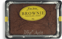 Bolo Brownie Choc/Nozes Finarte 300g