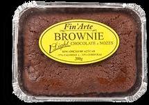 Bolo Brownie Choc/Nozes Zero Açúcar Finarte 200g