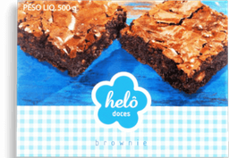 Bolo Brownie Helo 500g