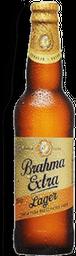 Cerveja Extra Lager Long Neck Brahma 355Ml