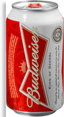 Cerveja Budweiser Lt 350ml