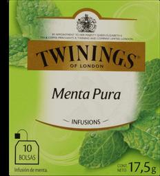 Chá Twinings Hortelã 17G 10Un