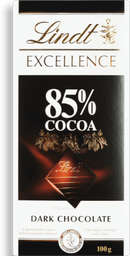 Chocolate Sui Excellence Dark 85% Lindt 100g