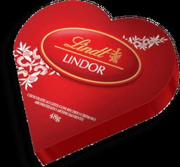 Chocolate Sui Lindor Milk Heart Tin Lindt 48G