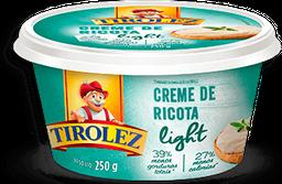 Creme De Ricota Light Tirolez 250g