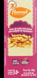 Doce Leite Com Nozes Zero Flormel 25g