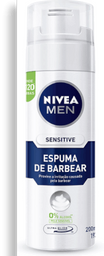 Espuma Barbear Sensitive Nivea 193G