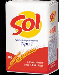 Farinha De Trigo Sol 1Kg