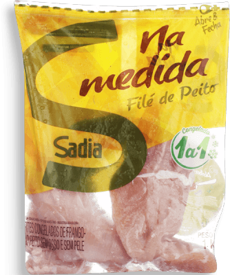 Filé De Peito Frango Iqf Sadia 1Kg