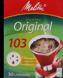 Coador De Papel N103 Gde Melitta Com 30 Un