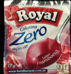 Gelatina em pó ROYAL Zero Framboesa 12g