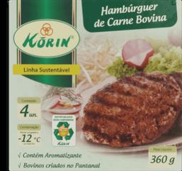Hambúrguer  Bov Korin 360g