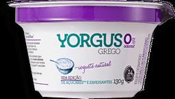 Iogurte Grego 0% Natural Yorgus 130g G