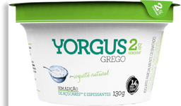 Iogurte Grego 2% Natural Yorgus 130g G