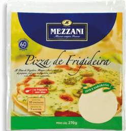 Massa Pizza De Frigideira Mezzani 270g