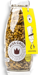 Crisp Lemon Pepper Miss Croc 140g