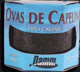 Ovas De Capelin Tp Caviar Preto Damm 100g