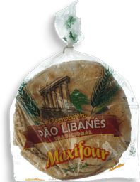 Pão Libanes Peq Maxifour 350g