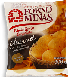 Pão De Queijo Gourmet Forno De Minas 300g